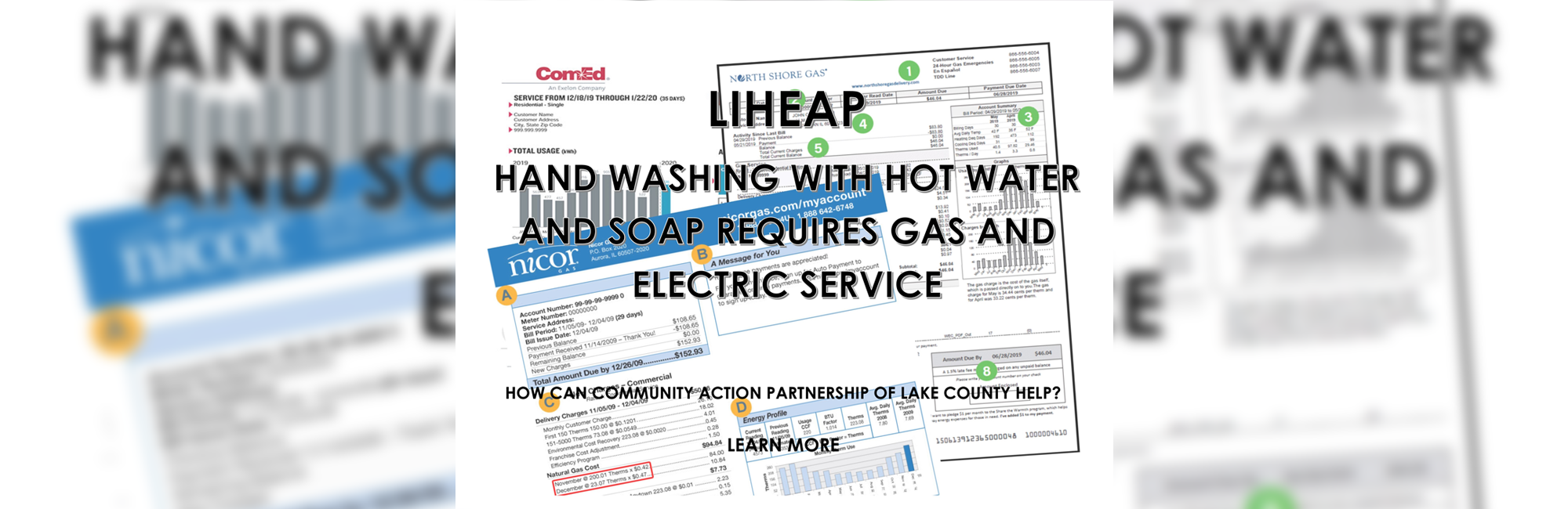 Hand Washing with Hot Water and Soap Requires Gas and Electric Service